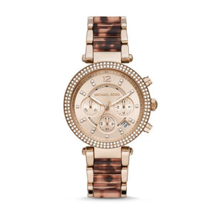 Michael Kors Parker Two Tone Chronograph Watch