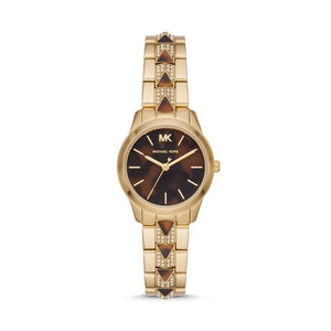 Michael Kors Runway Mercer Two Tone Analogue Watch