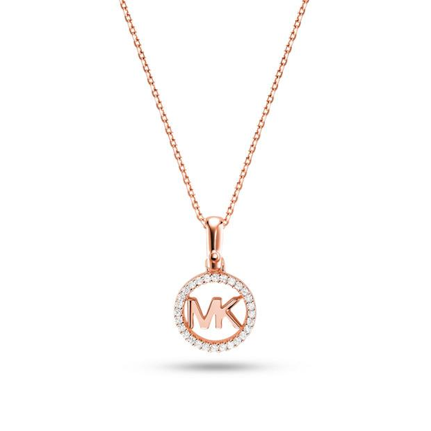 Michael Kors MKC1108AN791 Custom Kors Necklace Rose Gold Necklaces Michael Kors