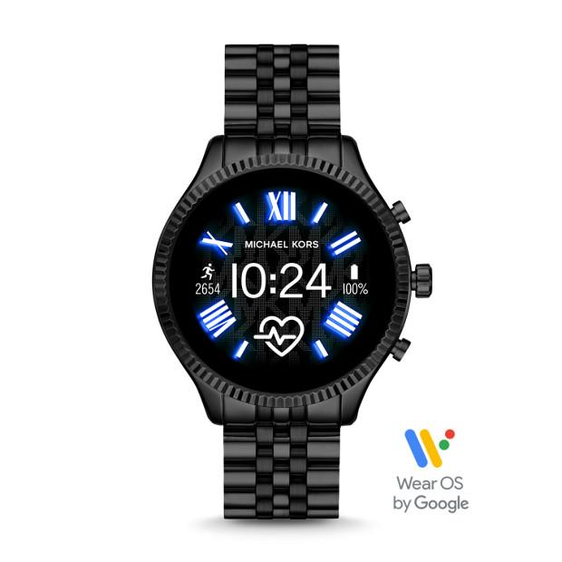 Michael Kors Gen 5 Lexington 2 Black Smartwatch-MKT5096 Watches Michael Kors