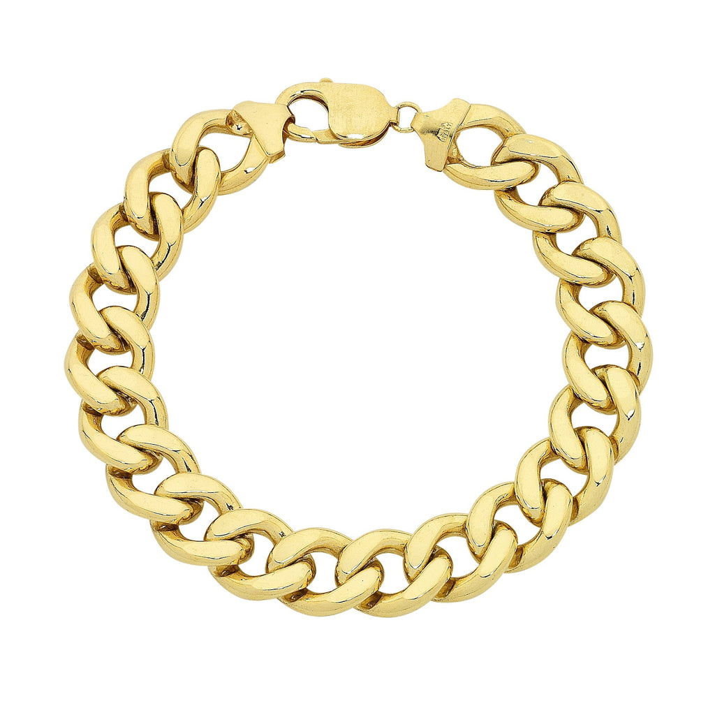 9ct Yellow Gold 22cm Bracelet