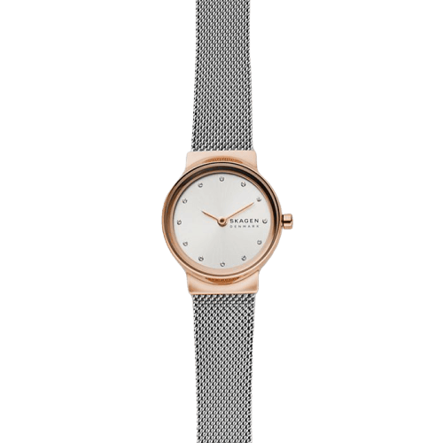 Skagen Freja Two-Tone Steel-Mesh Watch SKW2716