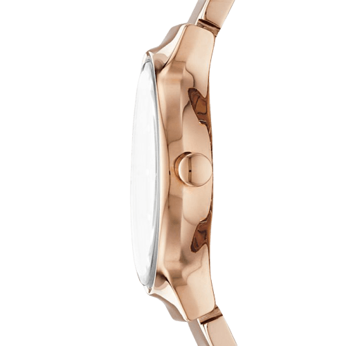 Skagen Freja Rose Gold-Tone Steel-Link Watch SKW2791