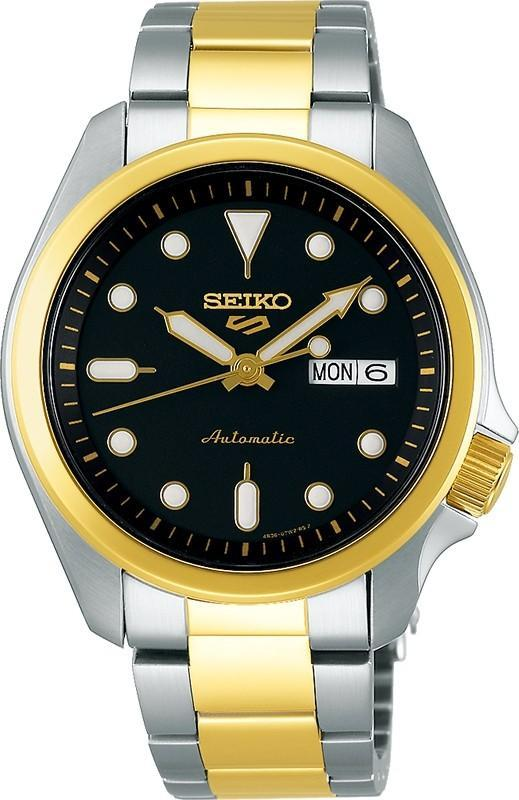 Mens Seiko 5 Sports 100M SRPE60K Watches Seiko