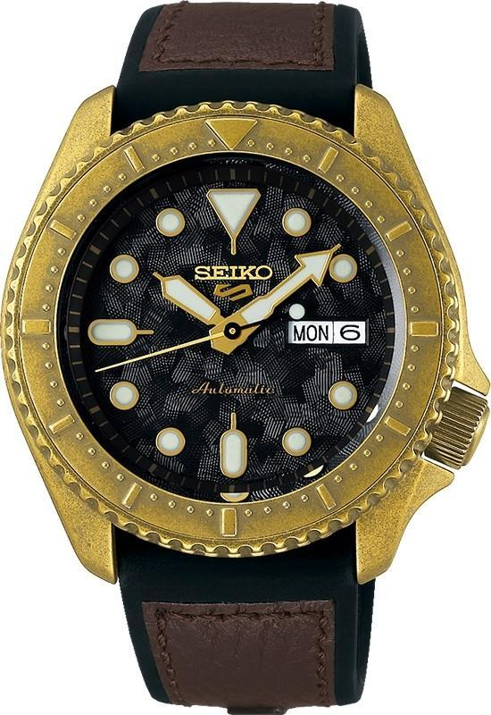 Mens Seiko 5 Sports 100M SRPE80K Watches Seiko
