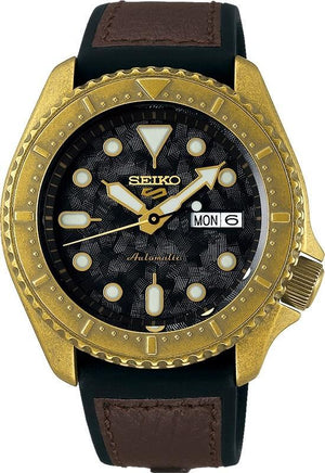 Mens Seiko 5 Sports 100M Watch SRPE80K