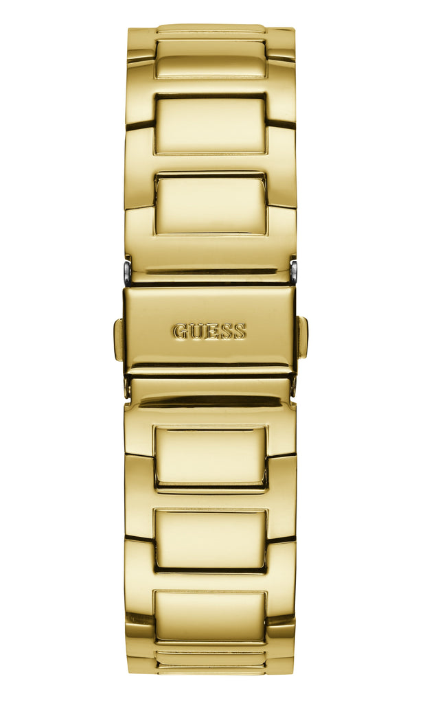 Guess Lady Frontier Crystal Gold Watch W1156L2 Watches Guess