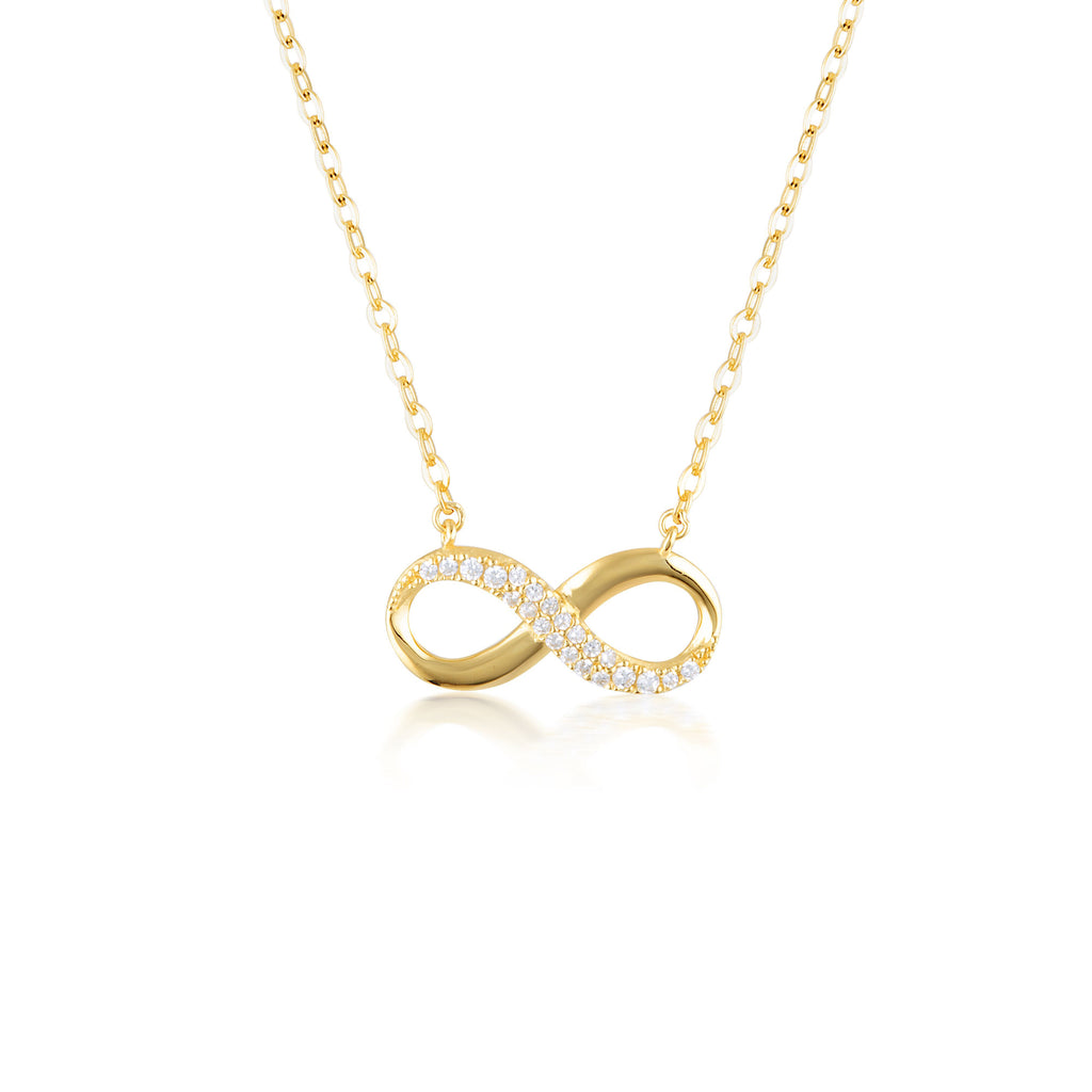 FOREVER INFINTY PENDANT - GOLD Bevilles Jewellers