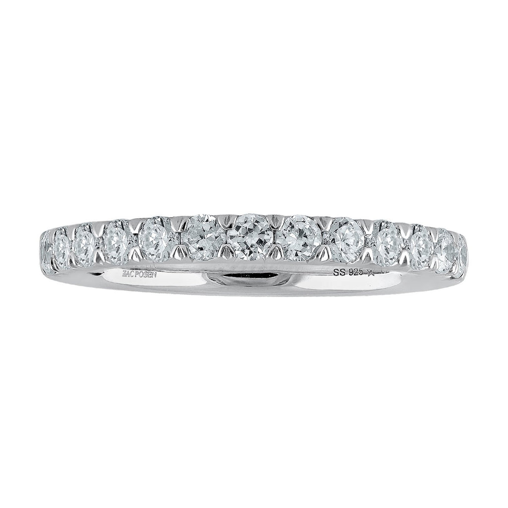 Truly Zac Posen Empowering Collection Diamond Eternity Ring Rings Bevilles