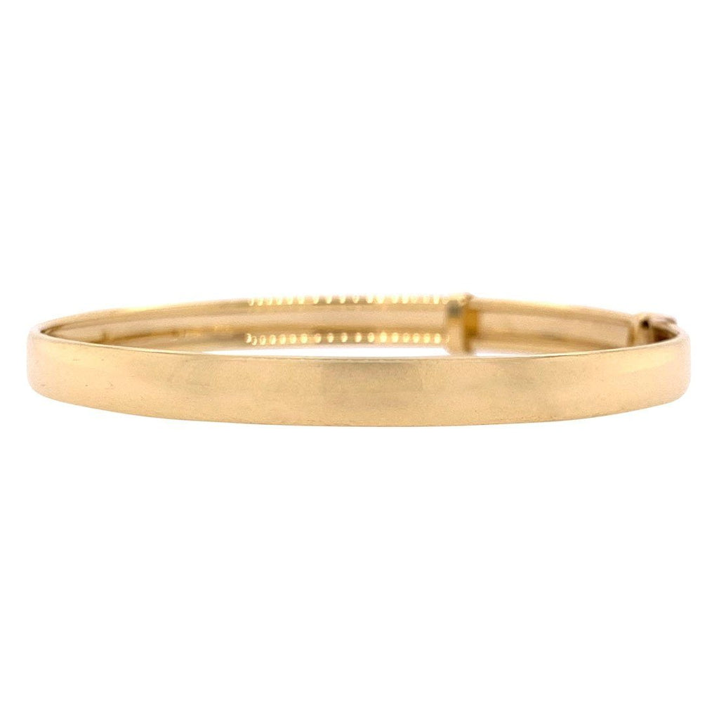 Children's 9ct Yellow Gold Adjustable Bangle