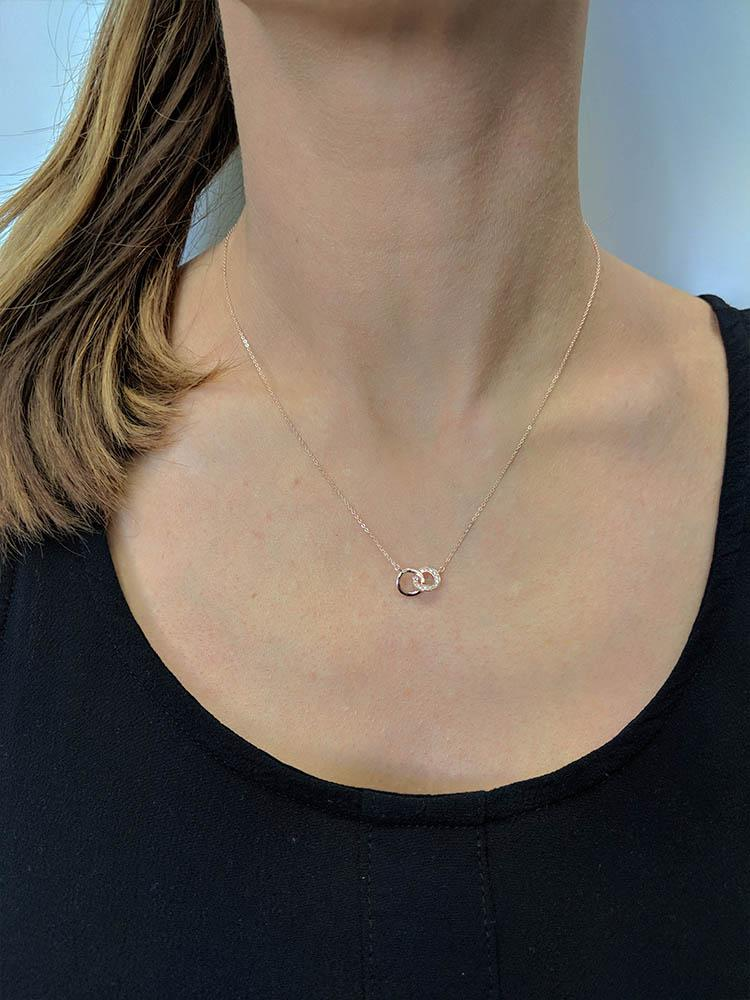 LYNX ROSE GOLD PENDANT Bevilles Jewellers