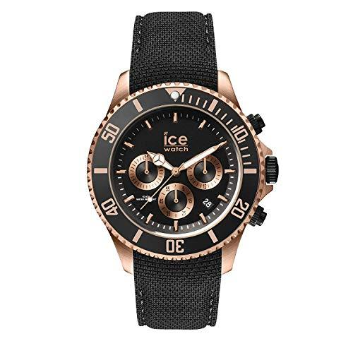 ICE Steel Black Rose Gold Large Men's Watch Watches Ice