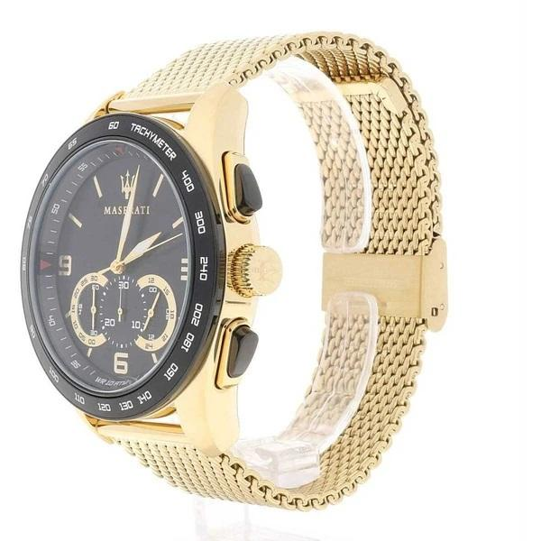 Maserati TRAGUARDO 45mm Gold-tone Watch Watches Maserati