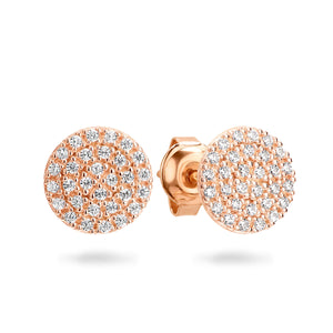 Georgini Pavo Rose Gold Earrings
