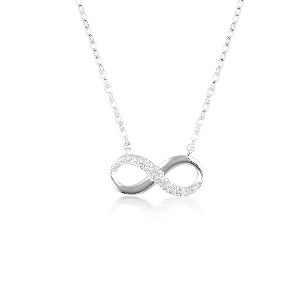 FOREVER INFINTY PENDANT - SILVER Bevilles Jewellers