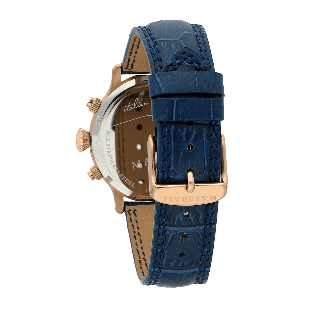 Maserati EPOCA 42mm Deep Blue Watch Watches Maserati