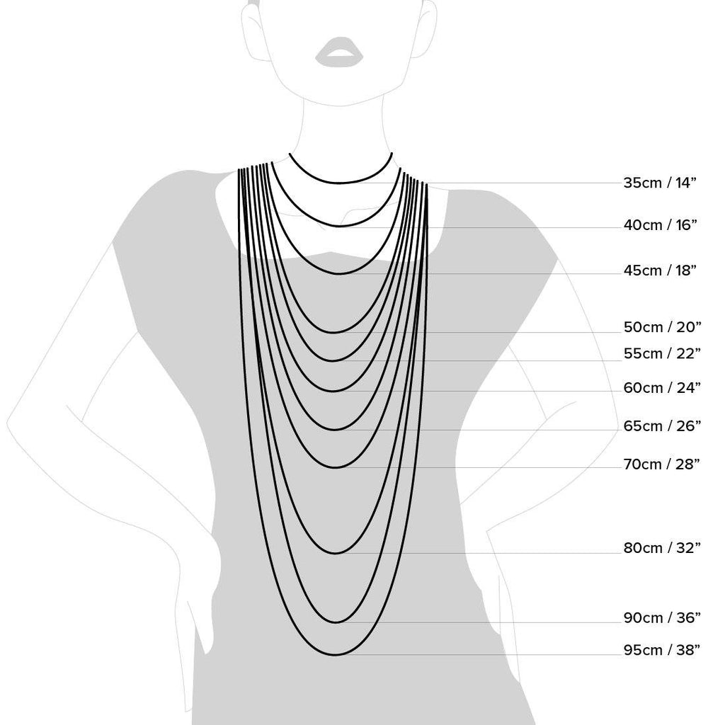 Sterling Silver Curb Necklace 45cm Necklaces Bevilles