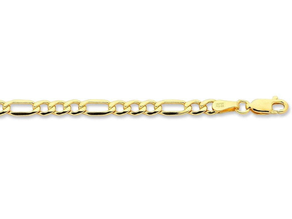 9ct Yellow Gold Silver Infused Necklace