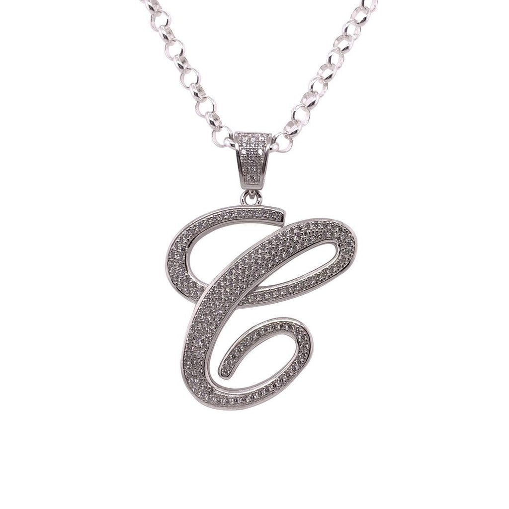 Gina Liano Cubic Zirconia Initial Necklaces Necklaces Bevilles