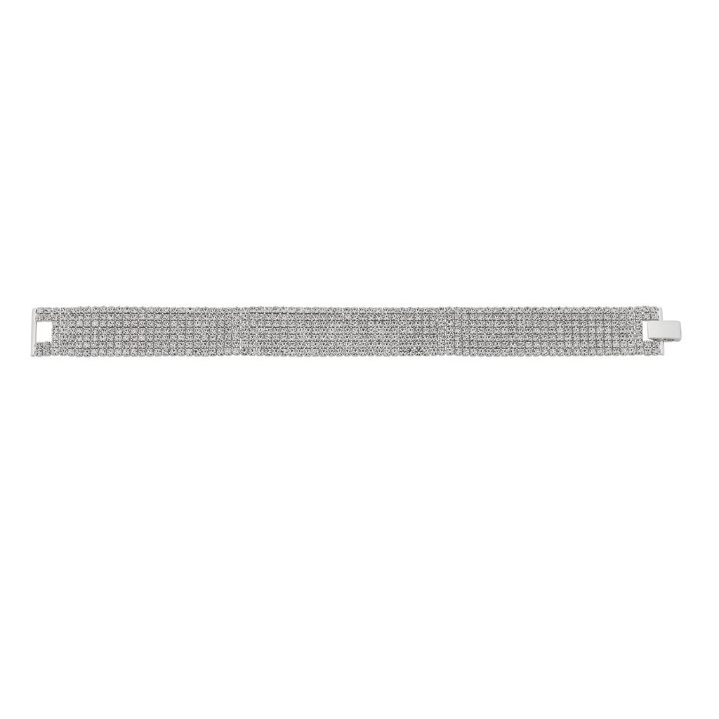 Gina Liano Forbidden Multi Row Tennis Bracelet