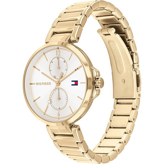 Tommy Hilfiger Angela Gold & White Watch 1782128