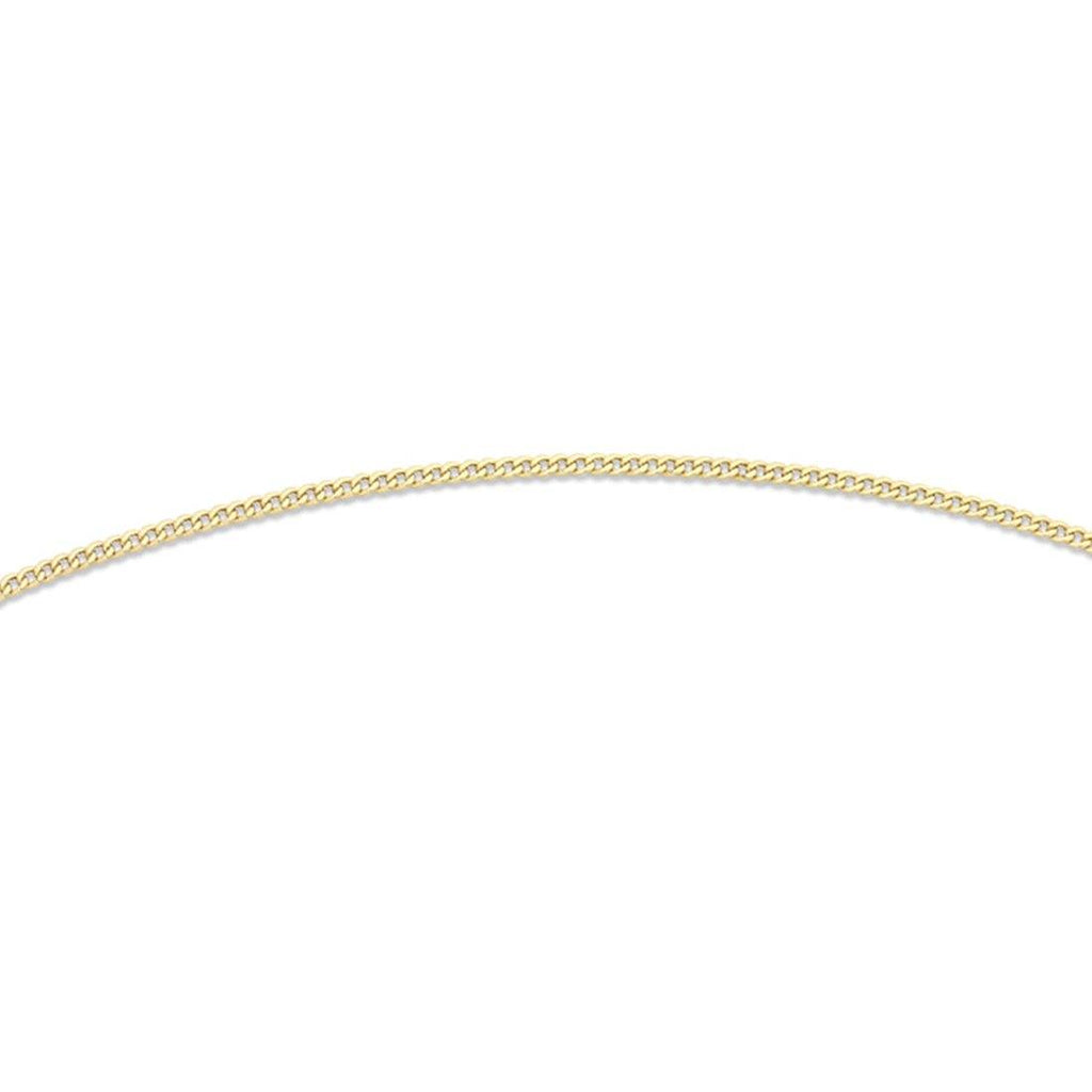 9ct Yellow Gold 45cm Chain Necklace Necklaces Bevilles
