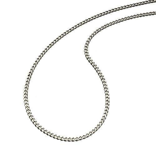 Sterling Silver 1mm Curb 45cm Necklace Jewellery Bevilles