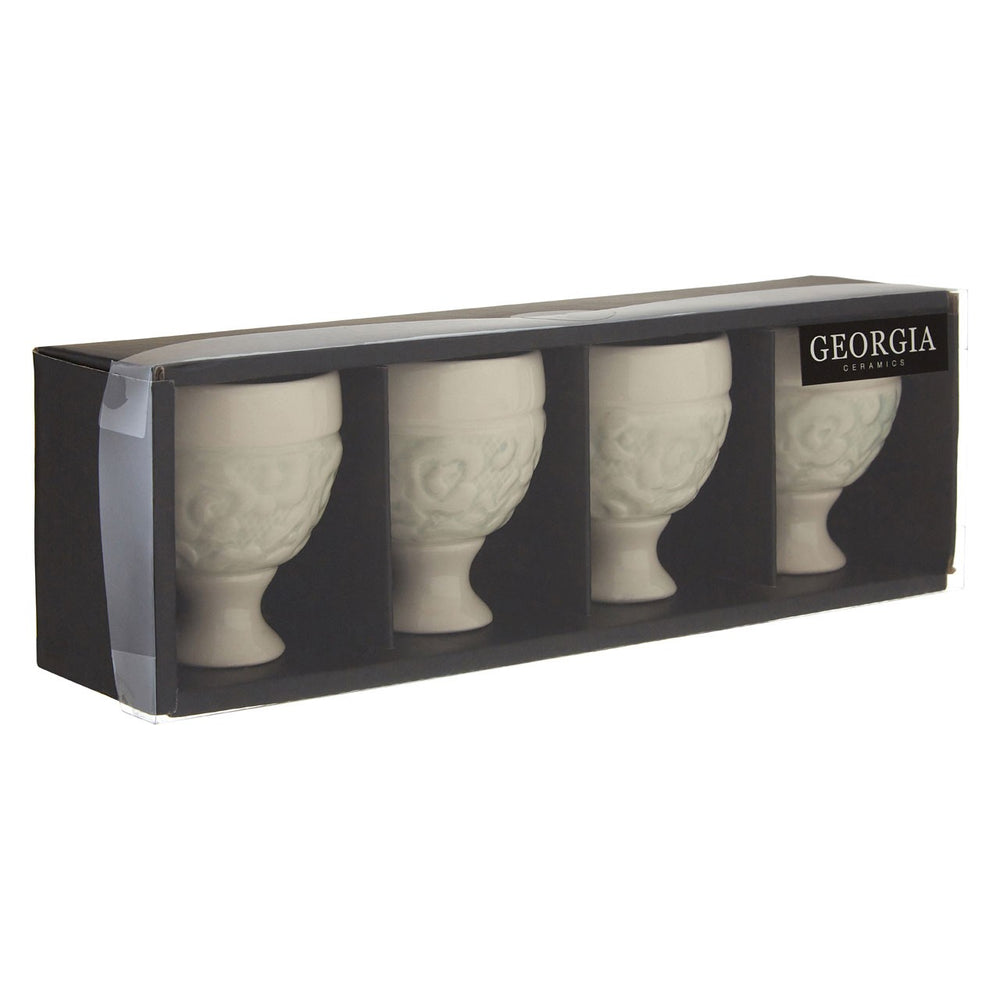GEORGIA EGG CUPS SET X 4