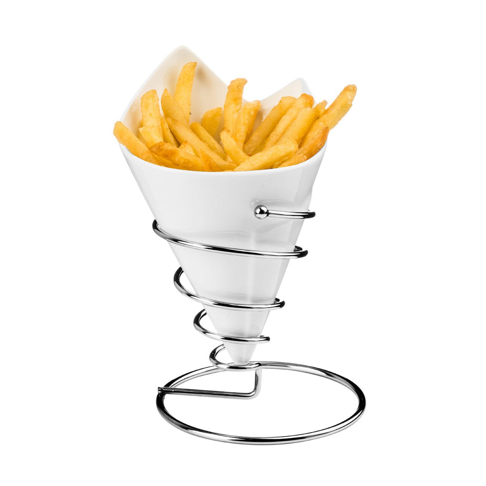 CERAMIC FRENCH FRIES CONE