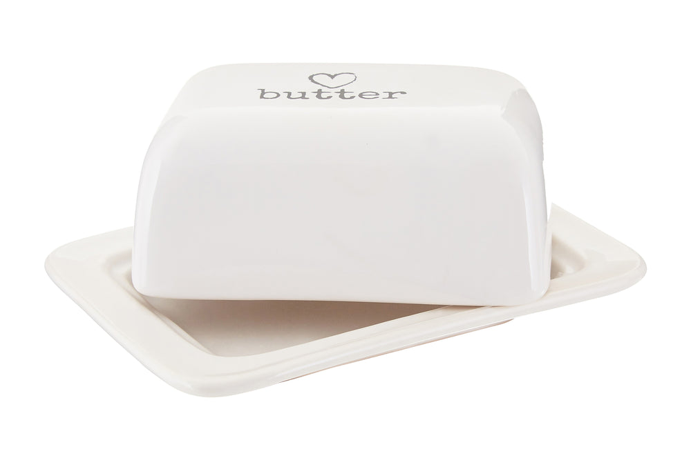 CHARM BUTTER DISH