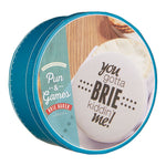 PUN & GAMES STONEWARE CHEESE BAKER