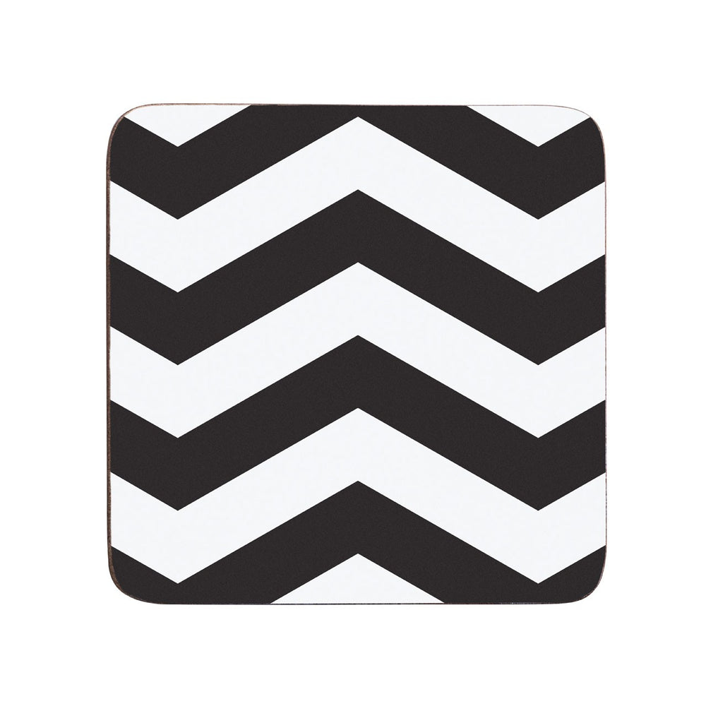 CHEVRON COASTERS SET OF 4