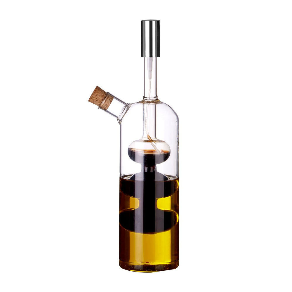 OIL & VINEGAR DISPENSER GLASS BOTTLE