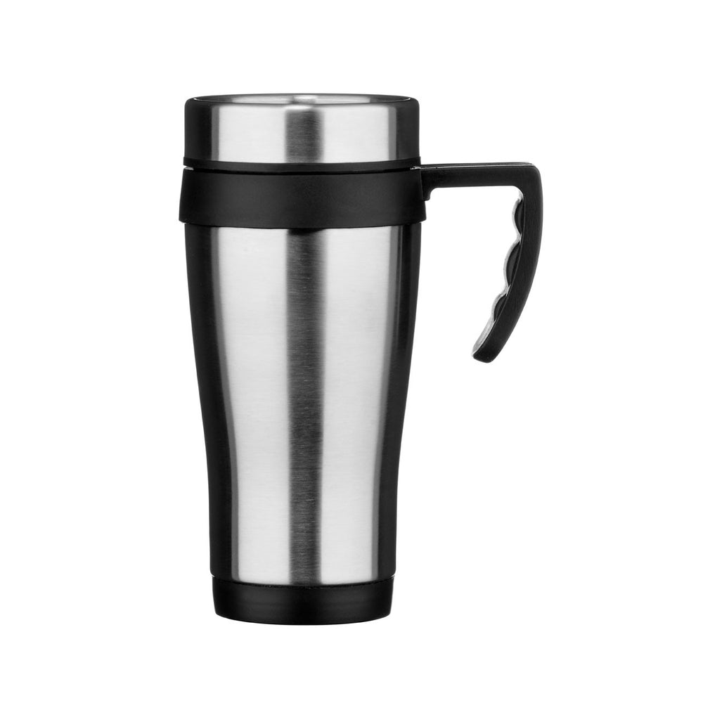 STAINLESS STEEL TRAVEL MUG - 440ML