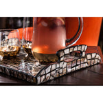 CRACKLE MOSAIC TRAY
