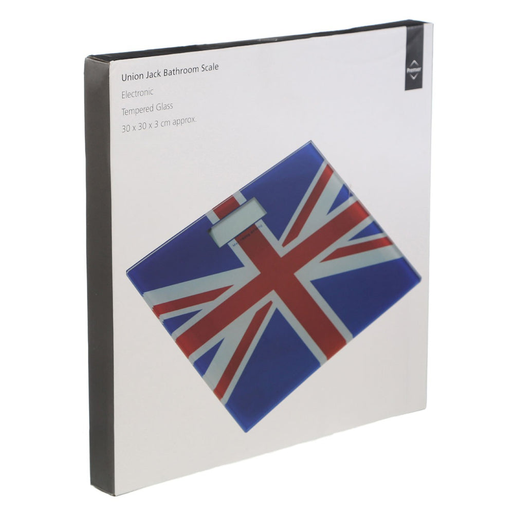 UNION JACK BATHROOM SCALE