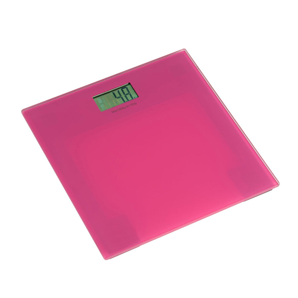 PINK BATHROOM SCALE