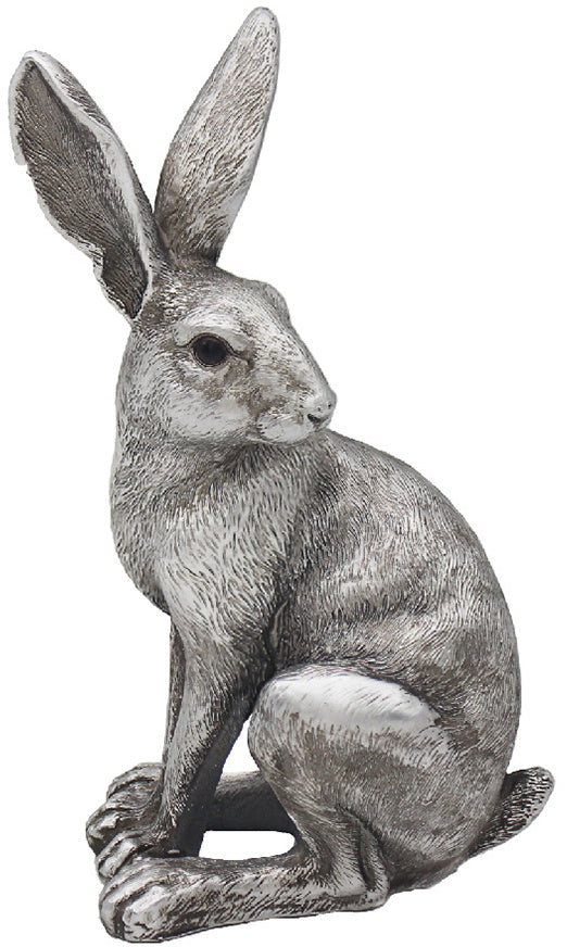 SILVER SITTING HARE
