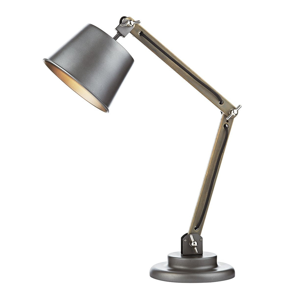 RETRO STYLE ADJUSTABLE DESK LAMP WITH SHADE