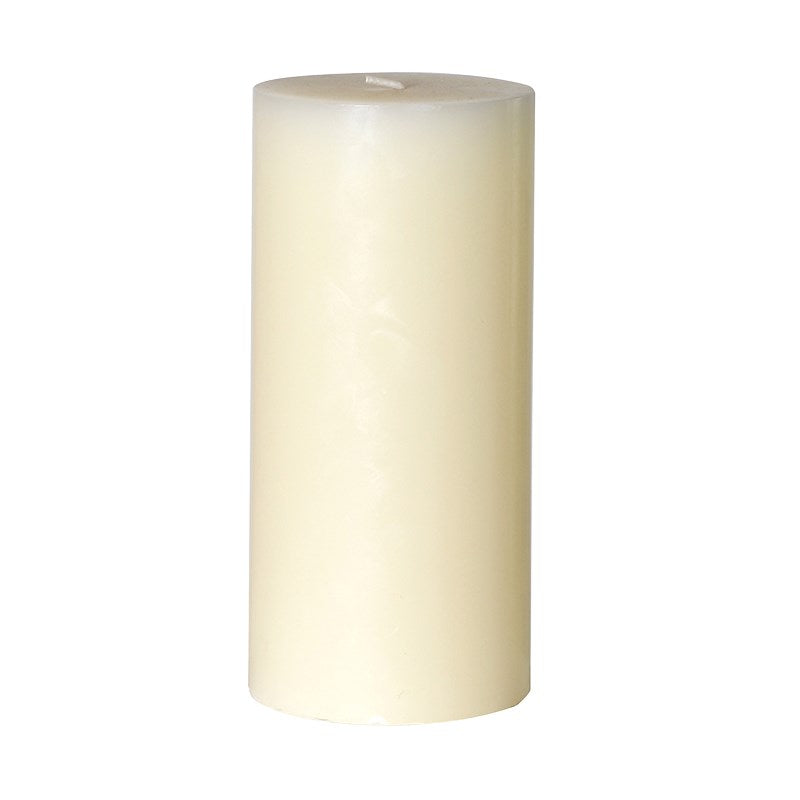 Cream Pillar Candle