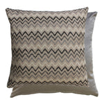 CHEVRON MONOCHROME CUSHION COVER & PAD