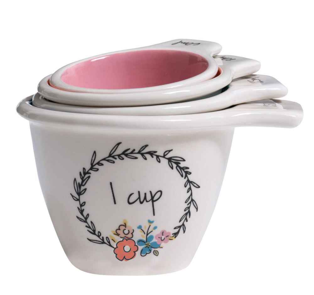 PRETTY THINGS MEASURING CUPS X 4 SET