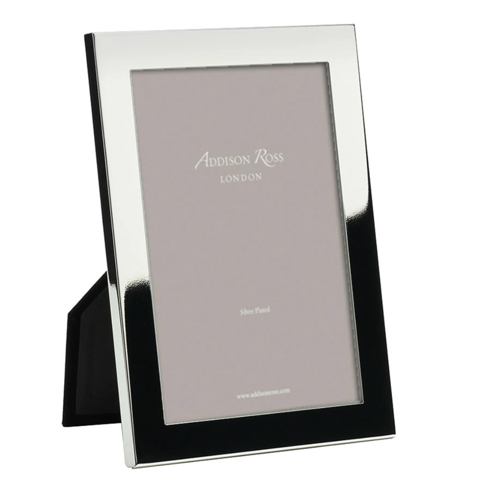 SILVER PLATED 15MM PHOTO FRAME WITH SQUARED CORNERS