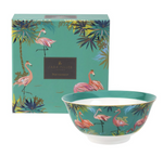 TAHITI FLAMINGO CANDY BOWL