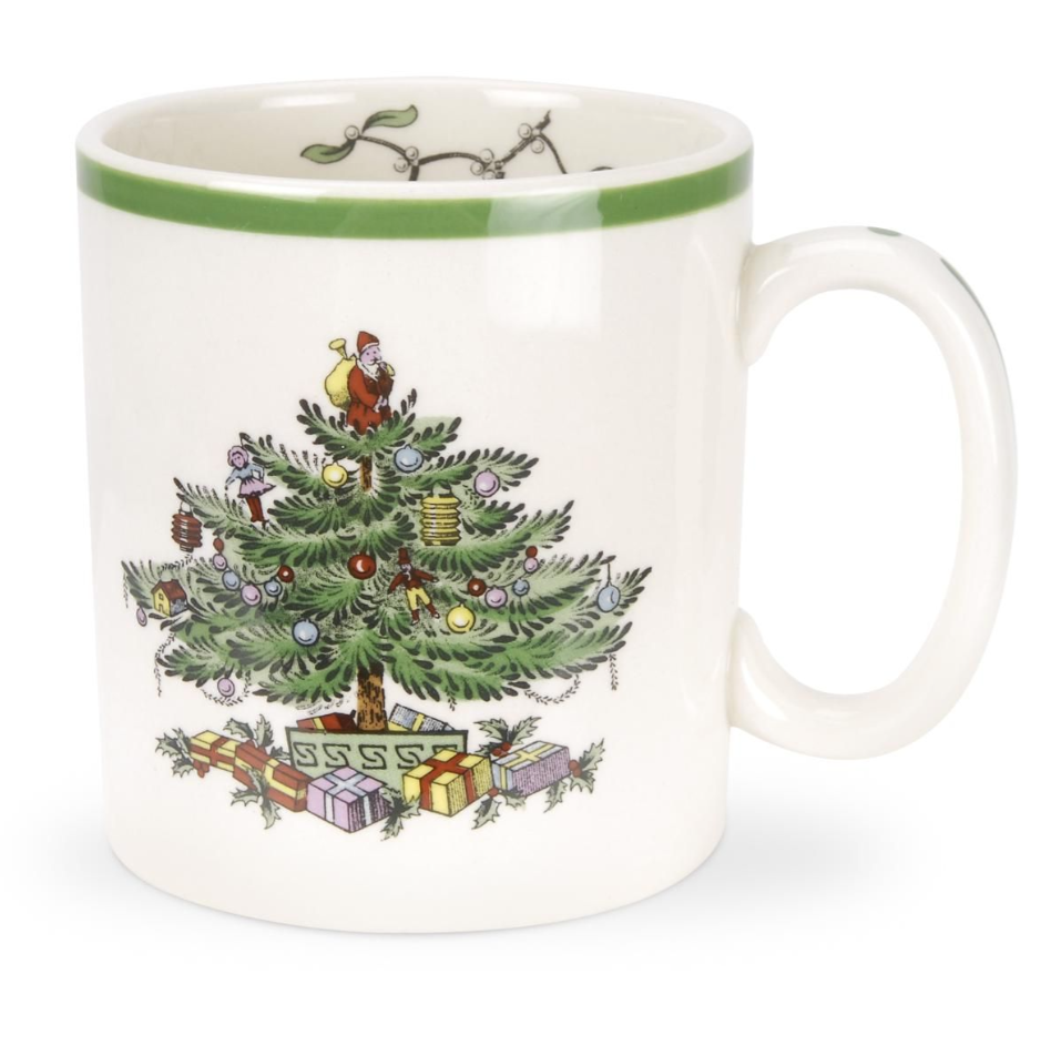 CHRISTMAS TREE MUG SET X 4