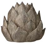SERAFINA ARTICHOKE CANDLE HOLDER BRONZ