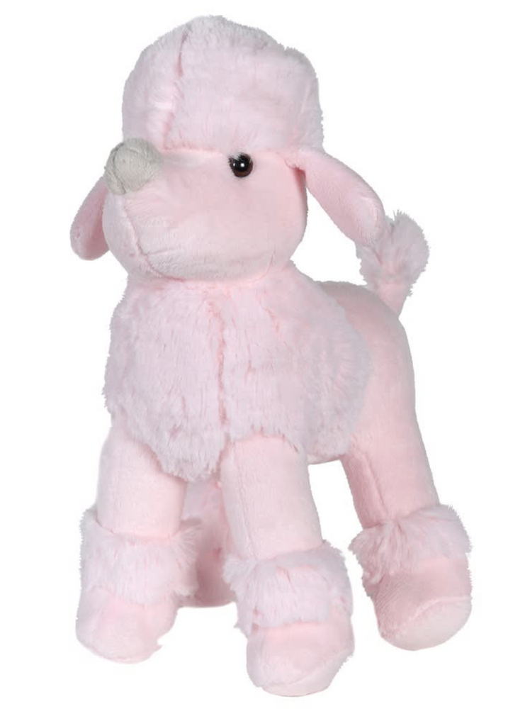 SOFT SMALL PINK POODLE