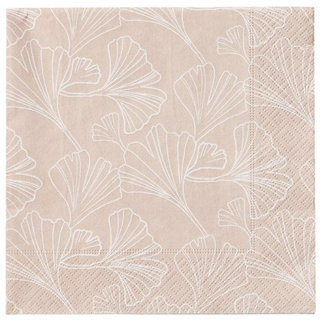 Gigi Paper Napkin - Rose Dust