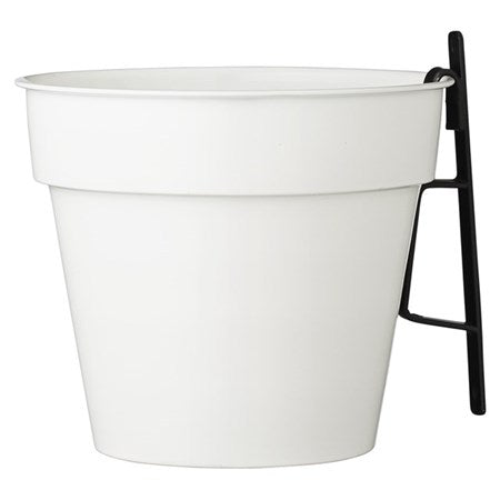 JENESIA WHITE FLOWER POT