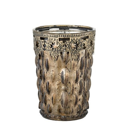 Verdia Votive Tall Bronze